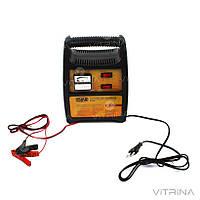 Зарядное устройство для авто 12В (6В), 12А (стрелочный индикатор) | СИЛА 900210