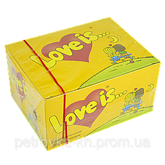 "Жувальна гумка ""Love is"" Ананас-кокос 100 шт"