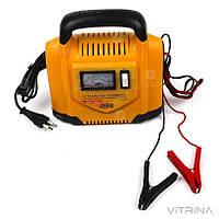 Зарядное устройство для авто 12В (6В), 6А (стрелочный индикатор) | СИЛА 900204