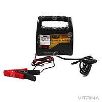 Зарядное устройство для авто 12В 6А (стрелочный индикатор) | СИЛА 900203