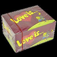 "Жевательная резинка ""Love is""  Вишня-Лимон  100 шт"
