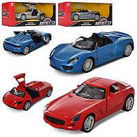 Машина метал. Ferrari/ MB