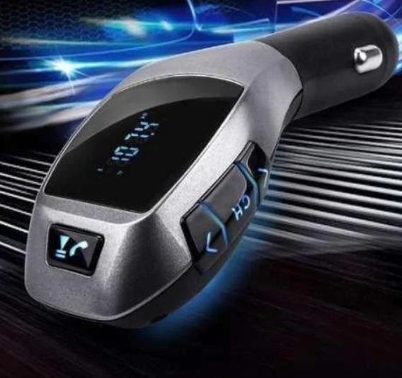 FM модулятор H20BT | Автомобильный трансмиттер | FM-передатчик для авто Bluetooth