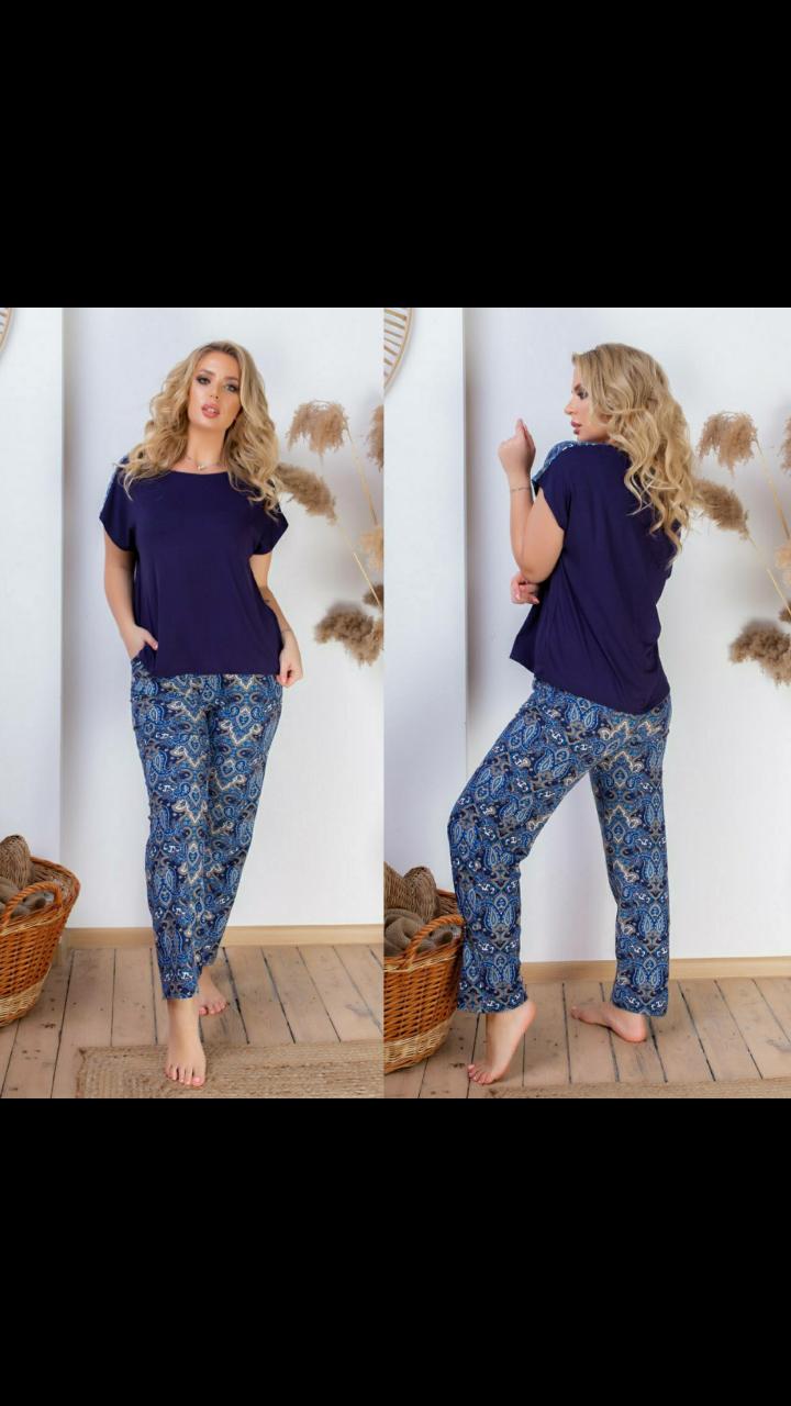 Пижама- домашний костюм большие размеры от 50р до 62р.