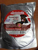 """Корм вологий для собак """"Леопольд """" з м'ясом птиці рисом та овочами пауч.вага 0.5 кг"""