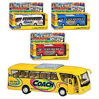 Машина метал. Tourist Bus