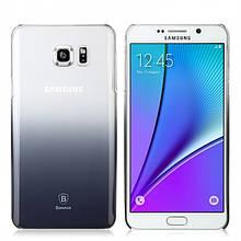 Чехол Baseus Gradient Для Samsung Galaxy Note 5 Black