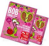 Пастила Яблоко-Малина  Равлик Боб без сахара Bob Snail , 120 г, в упаковке 12 конфет в виде спирали, фото 3