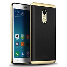 Чехол-Накладка Ipaky Pc+Tpu Для Xiaomi Redmi Note 4 Gold