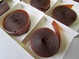 Пастила Яблоко-Малина  Равлик Боб без сахара Bob Snail , 120 г, в упаковке 12 конфет в виде спирали, фото 4