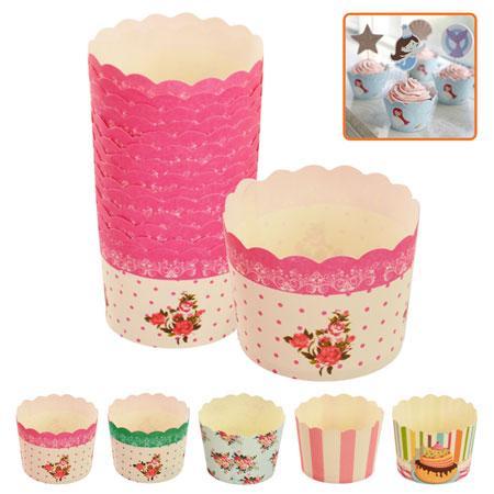 Формочки бумажные для кексов, 50шт/упак., MC6155PE