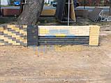 Кирпич для забора скала тычковой 220х100х65мм, фото 9