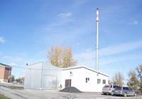 Труба дымовая на растяжках 450мм, 16 м.