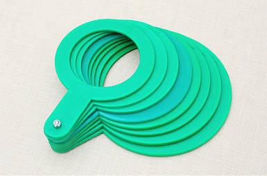Пластиковый комплект для калибровки фруктов, 8 шт диаметр от 25 до 60 мм
