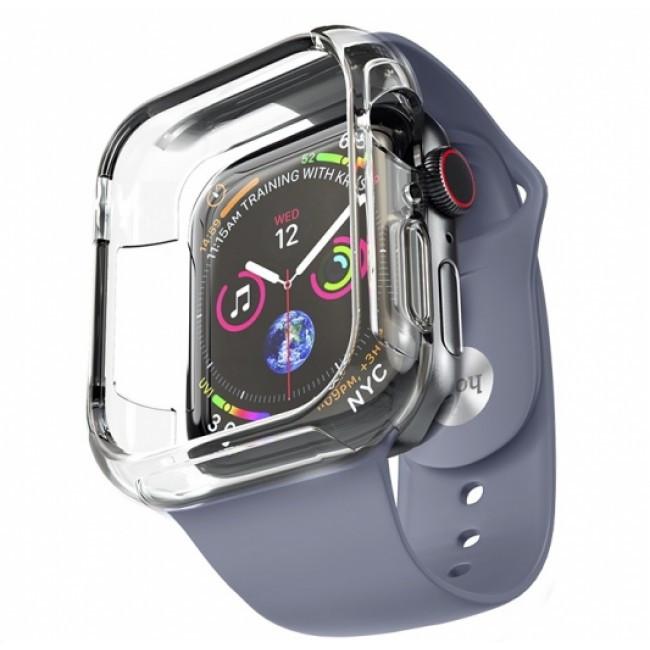 Pемешок Hoco Wb09 (С Бампером) Для Apple Watch Series 1/2/3/4 (38/40Mm) Blue