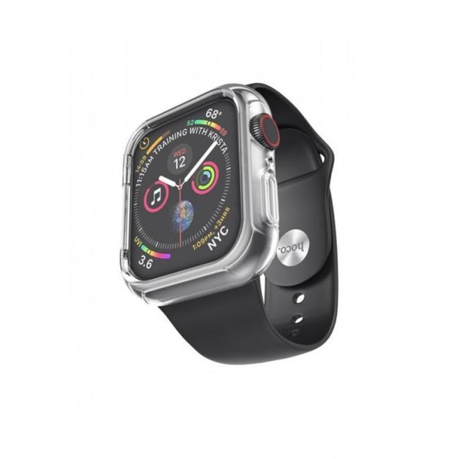 Pемешок Hoco Wb09 (С Бампером) Для Apple Watch Series 1/2/3/4 (42/44Mm) Black