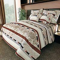 Комплект постельного белья полуторный 150 х 215 см Бязь Gold (сатин)