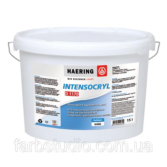 Фарба акрилатна матова фасадна Haering Intensocryl D 1170 - база 1 - 10 л