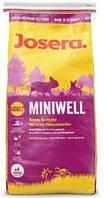 Josera (Йозера) Miniwell сухой корм для взрослых собак мелких пород (15 кг)
