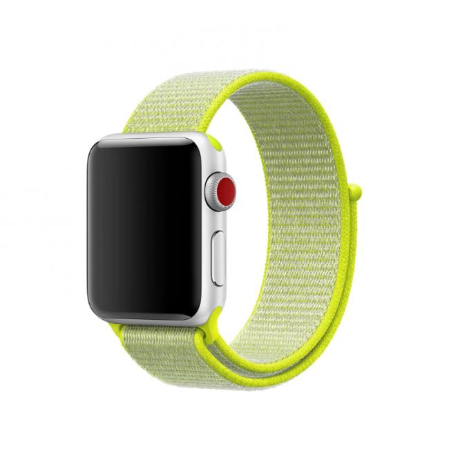 Нейлоновый Ремешок Для Apple Watch 42Mm/44Mm Sport Loop Green
