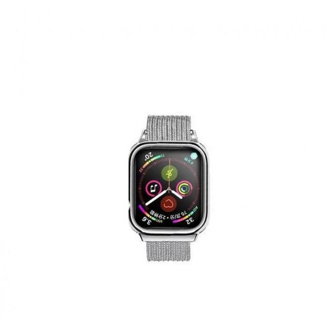 Ремешок Usams Us-Zb068 Magnetic Loop Для Apple Watch Series 1/2/3/4 (42/44Mm) Silver