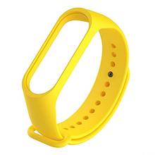 Ремешок Для Фитнесс Браслета Xiaomi Mi Band 3/4 Yellow