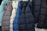 Модный пуховик зимнее пальто Магнолия размеры 54 - 56, ТМ NUI VERY, фото 7