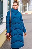 Модный пуховик зимнее пальто Магнолия размеры 54 - 56, ТМ NUI VERY, фото 8