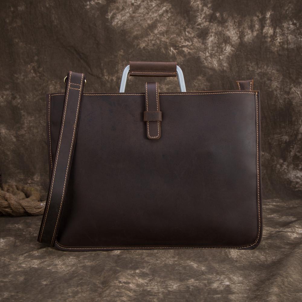 Мужская кожаная сумка. Модель DM-10