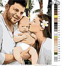 Картина по номерам по вашему фото живому от 30-90 см, фото 4