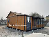 Дачный каркасный дом 8 м на 9,5 м. Новые технологии, фото 10