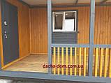 Дачный каркасный дом 8 м на 9,5 м. Новые технологии, фото 7