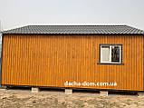 Дачный каркасный дом 8 м на 9,5 м. Новые технологии, фото 8