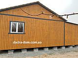 Дачный каркасный дом 8 м на 9,5 м. Новые технологии, фото 6