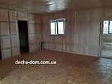 Дачный каркасный дом 8 м на 9,5 м. Новые технологии, фото 5