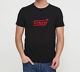 Футболка Subaru STI - белая, фото 2