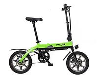 Электровелосипед  Maxxter MINI (black-green), фото 1
