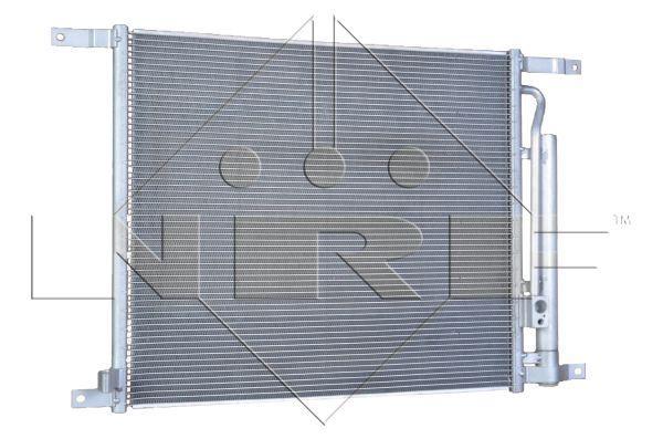 Радиатор кондиционера Aveo