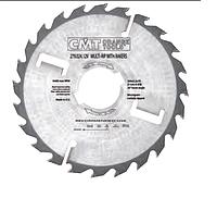 Диск CMT D300x60x3,2х2,2 24+4 зуб, многопильный с подрезными ножами (Арт. 279.024.12U)