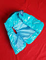Детская жилетка Монклер бирюза для девочки на рост 80-116 см, фото 3