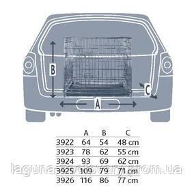 Клетка для собаки переносная  №5/116×86×77см, фото 2