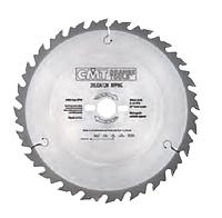 Пила CMT D250x30x2,8х1,8 24 зуб, продольный рез (Арт. 290.250.24M)