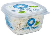 Сир жирн.0,2 % 300г, органічний кисломолочний