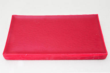 Красный воск для прививки Optiwax пластина (1кг)