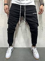 Мужские спортивные штаны 2Y PREMIUM черные весна-осень