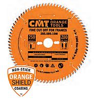 Диск пильный CMT 250x30x3,0х2,5 80 зуб, для поперечного распила и багетных рам (Арт. 285.580.10M)