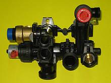 Корпус триходового клапана в зборі S10255 Saunier Duval Isofast З 35 E A / F 35 E A, F 35 E H-MOD
