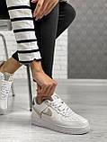 Женские кеды Nike Air Force PA109 белые, фото 3