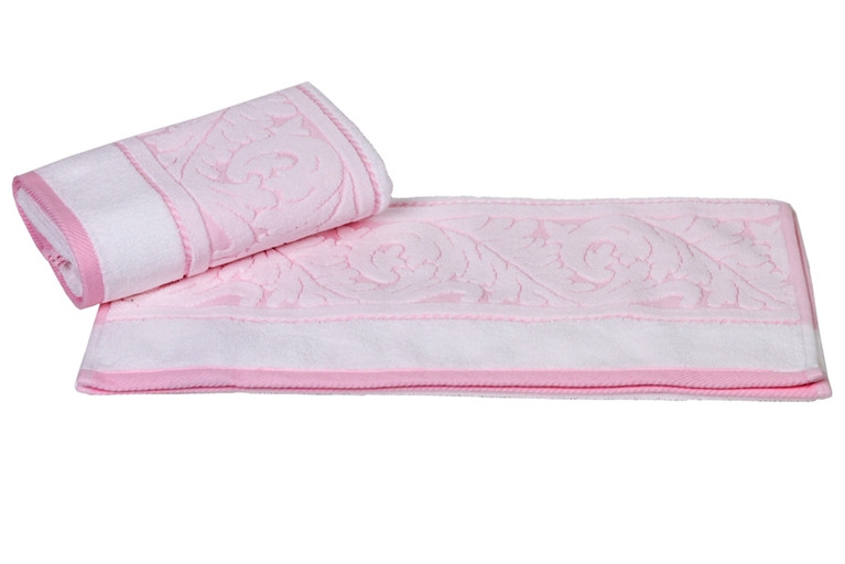 Махровое полотенце с жаккардовым бордюром Sultan 50x90см. (96045)