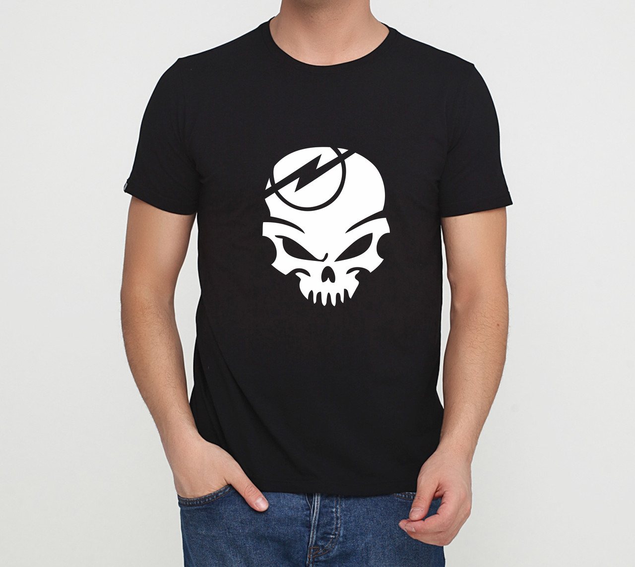 Футболка Opel skull черная